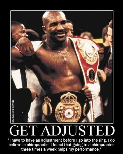 Evander Holyfield GET ADJUSTED