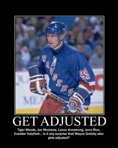 Wayne Gretzky GET ADJUSTED